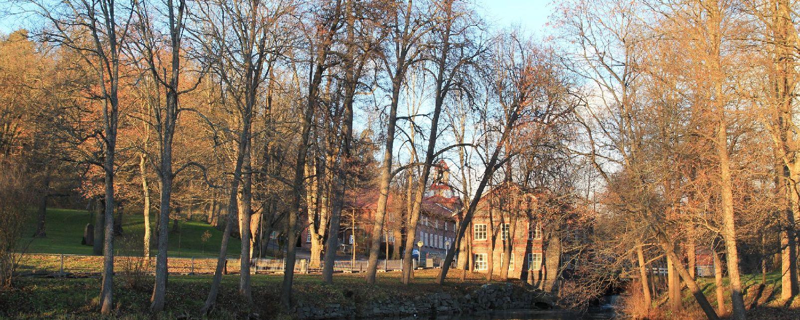 Le village de Fiskars , Finlande