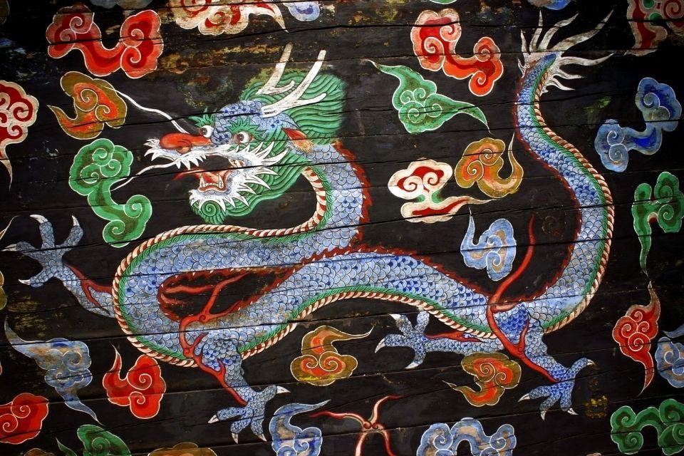 Les arts et la culture, dragon, art, culture, asie, corée, peinture, sud