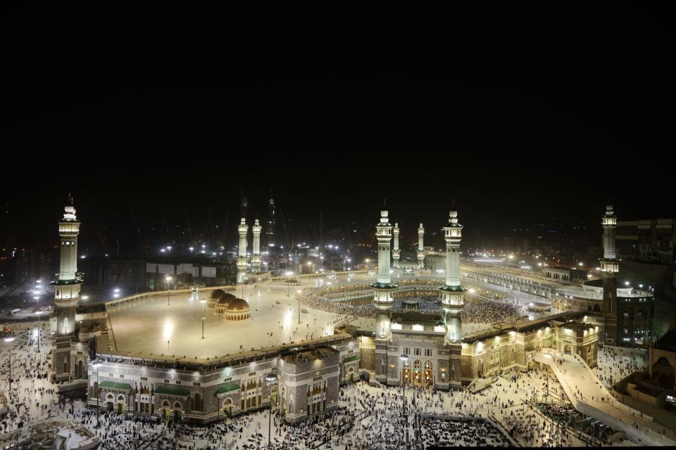 La Grande Mosquée de La Mecque , Arabie saoudite