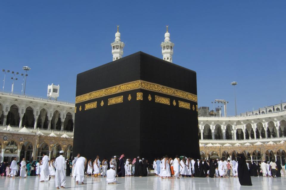La grande mosqu e de la mecque arabie saoudite for Interieur de la kaaba