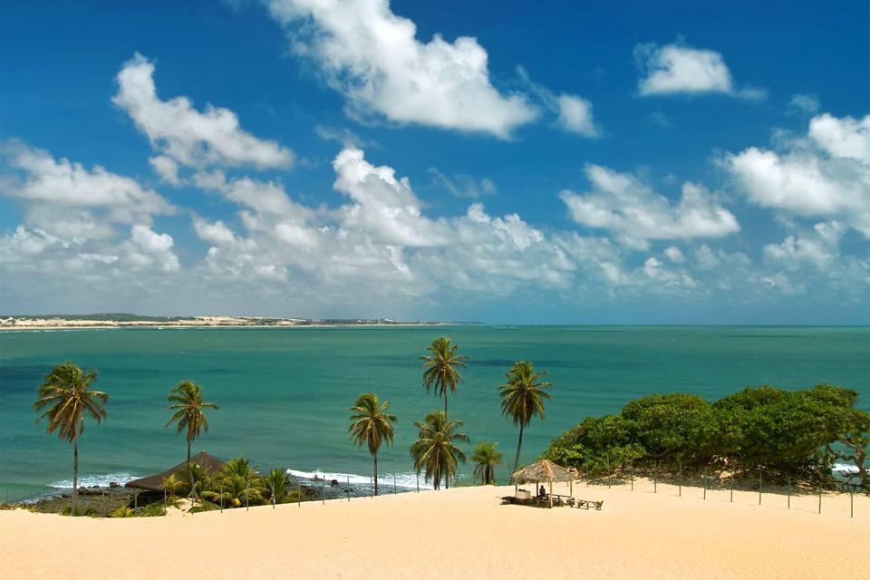 Le parc des dunes de Natal , Brésil