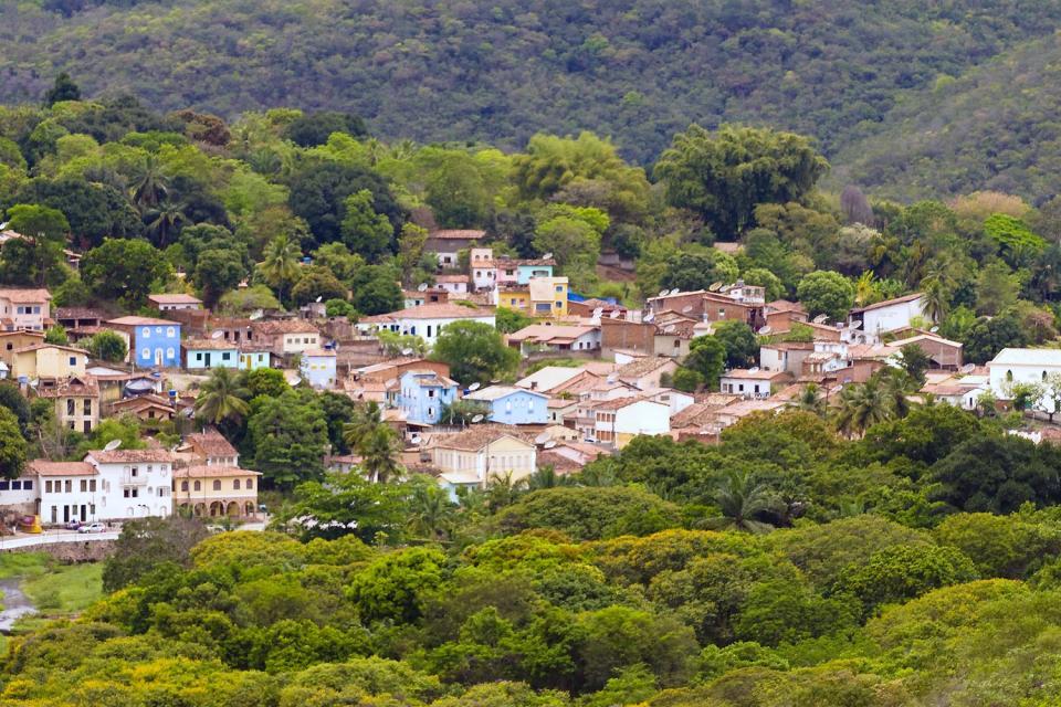 La Chapada Diamantina , La ville de Lençois , Brésil