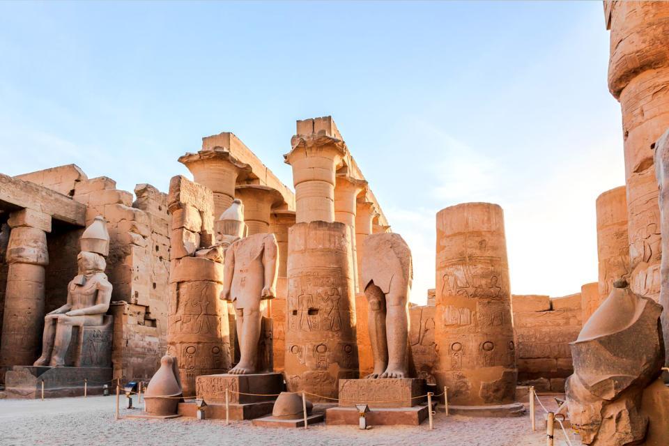 Les temples de Karnak , Egypte