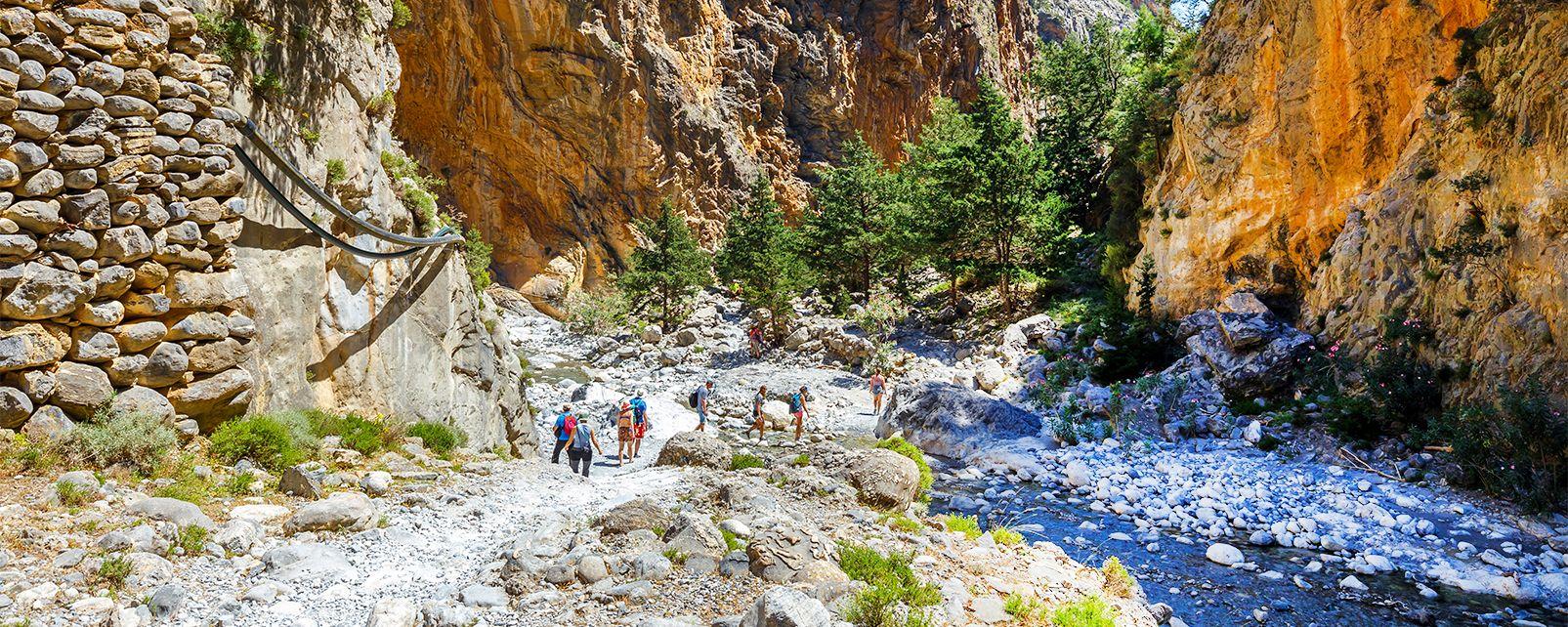 Un paysage à couper le souffle, Les Gorges de Samaria, Les paysages, Heraklion, Crète