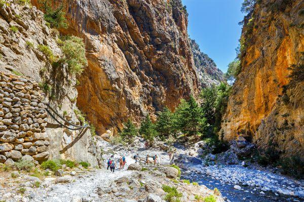 Les Gorges de Samaria , Grèce