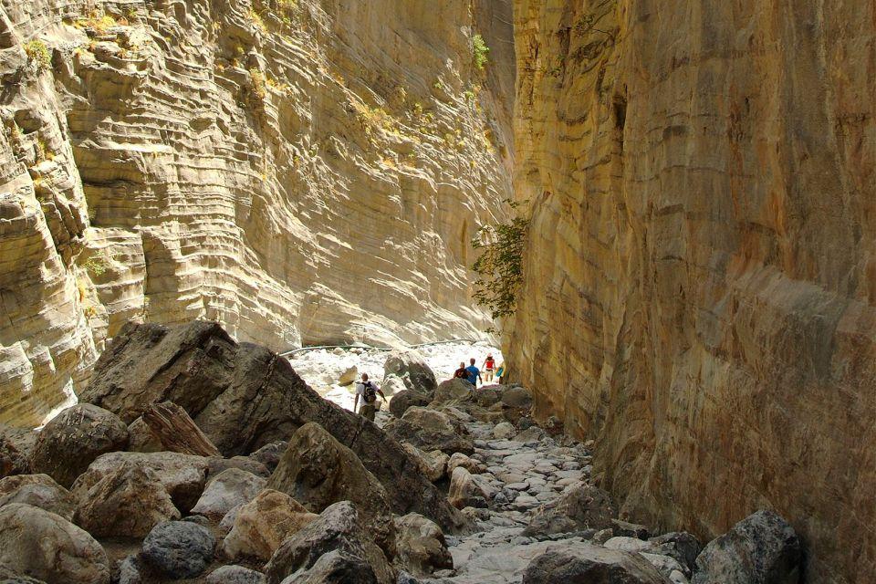 Une randonnée à ne pas manquer, Les Gorges de Samaria, Les paysages, Heraklion, Crète