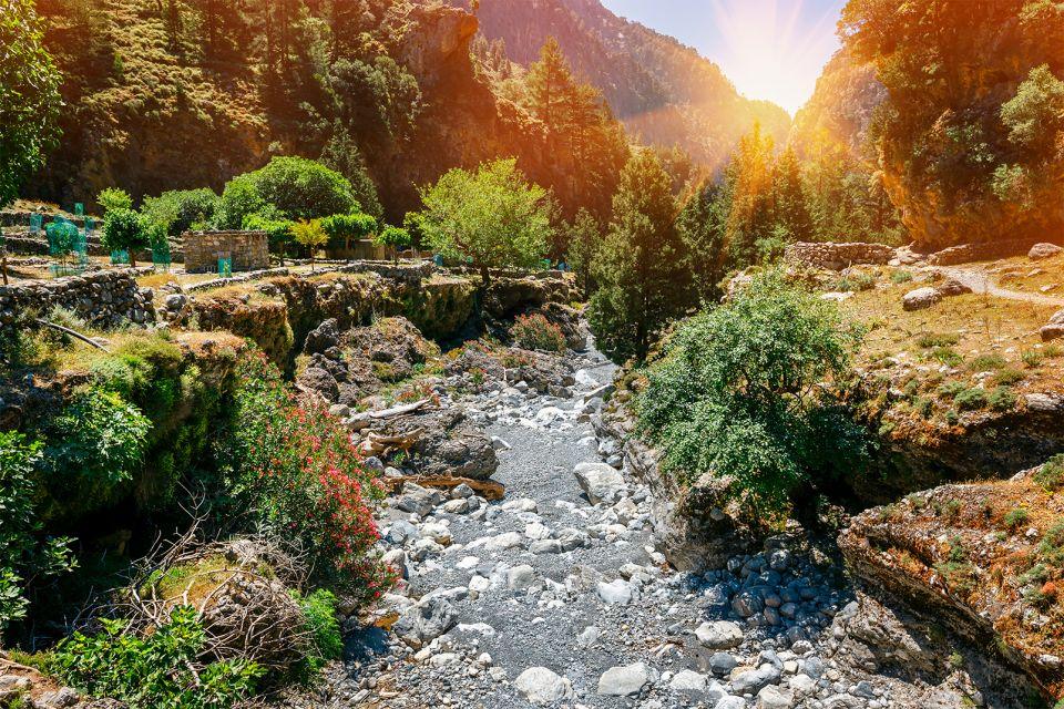 De nombreux points d'eau, Les Gorges de Samaria, Les paysages, Heraklion, Crète