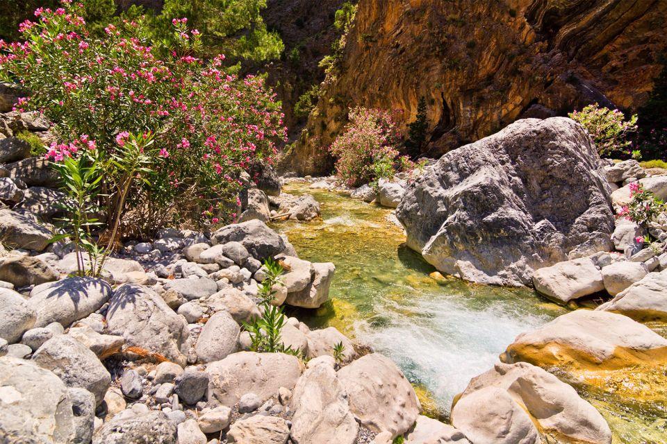 Une nature préservée, Les Gorges de Samaria, Les paysages, Heraklion, Crète
