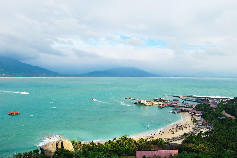 Les plages de Hainan , Chine