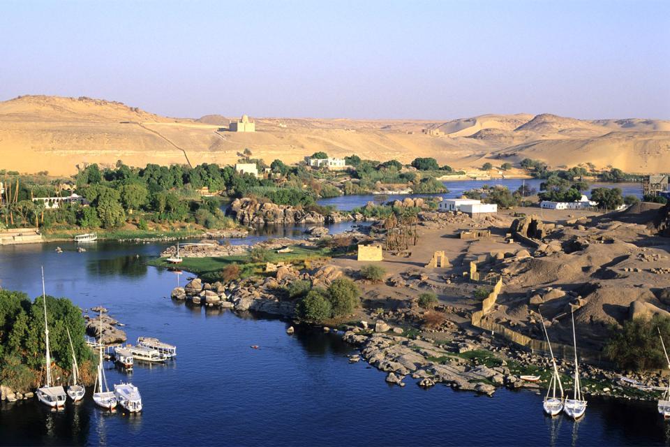Les barrages d'Assouan , Egypte