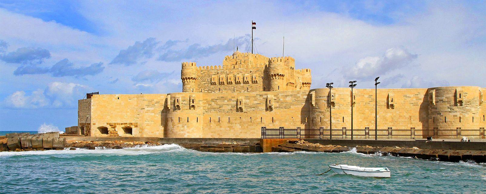 Le fort Qaitbay, Les sites, Alexandrie, Egypte