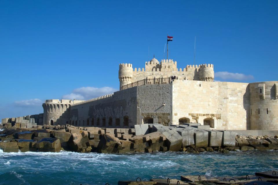 Le fort Qaitbay , Egypte