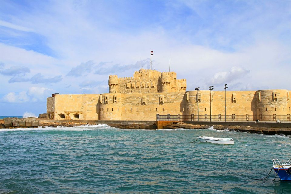 Le fort Qaitbay, Les sites, Alexandrie, Egypte