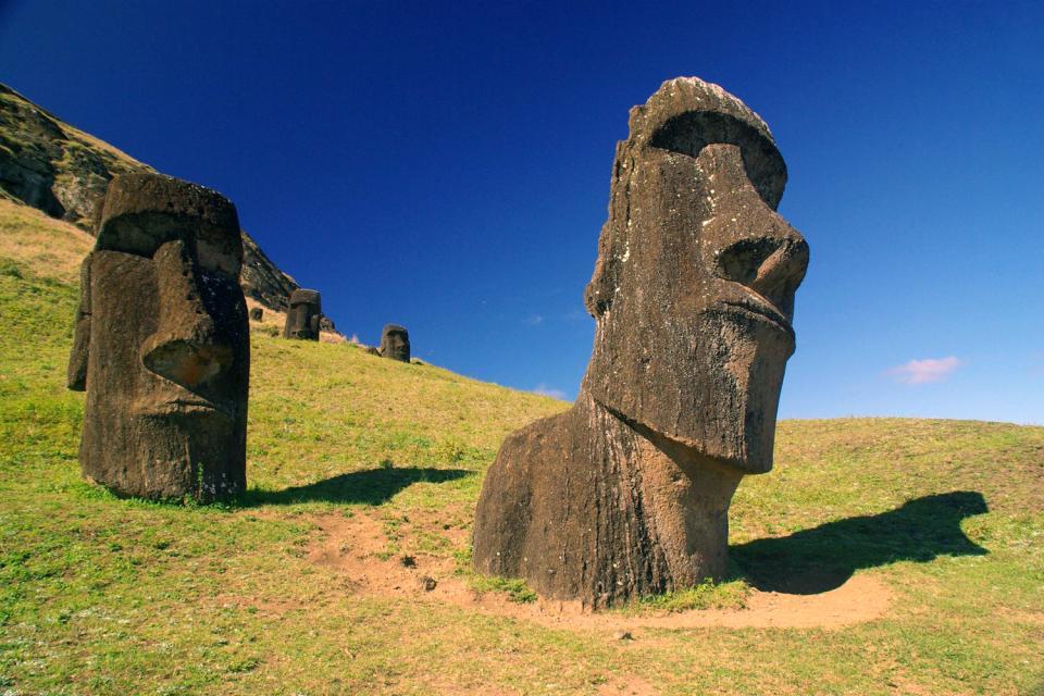 Top Les statues de l'île de Pâques - Ile de Pâques - Chili LP77