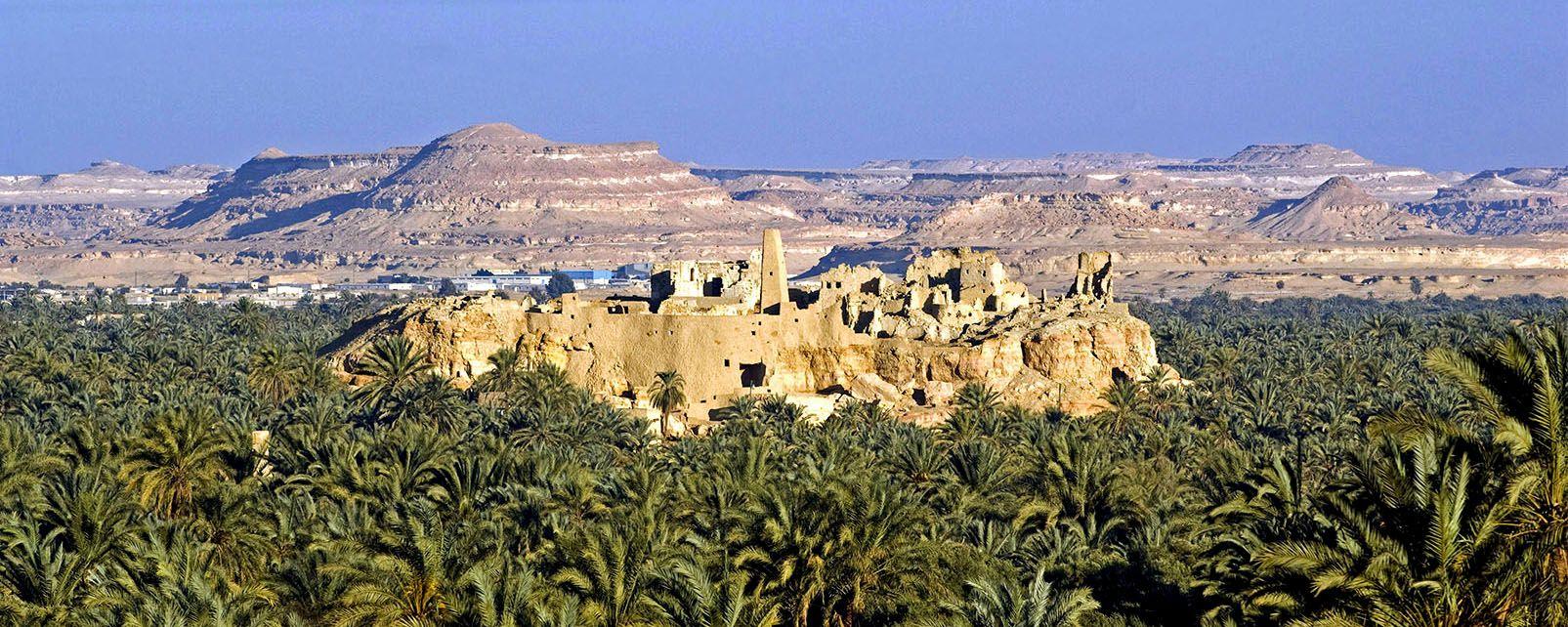 L'oasis de Siwa, Les sites, Alexandrie, Egypte