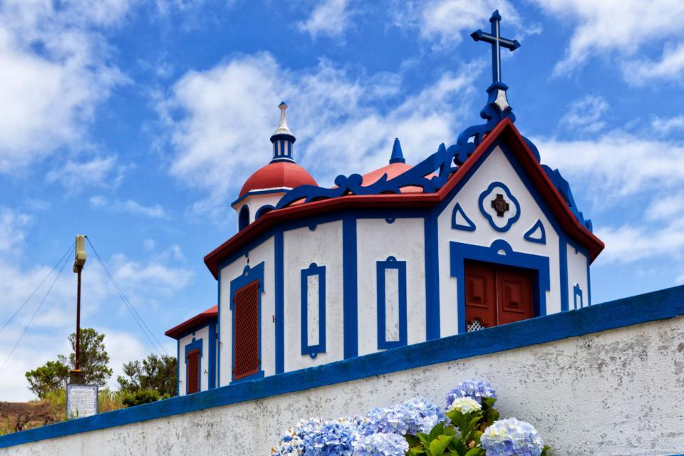 L'île de Sao Miguel , Portugal