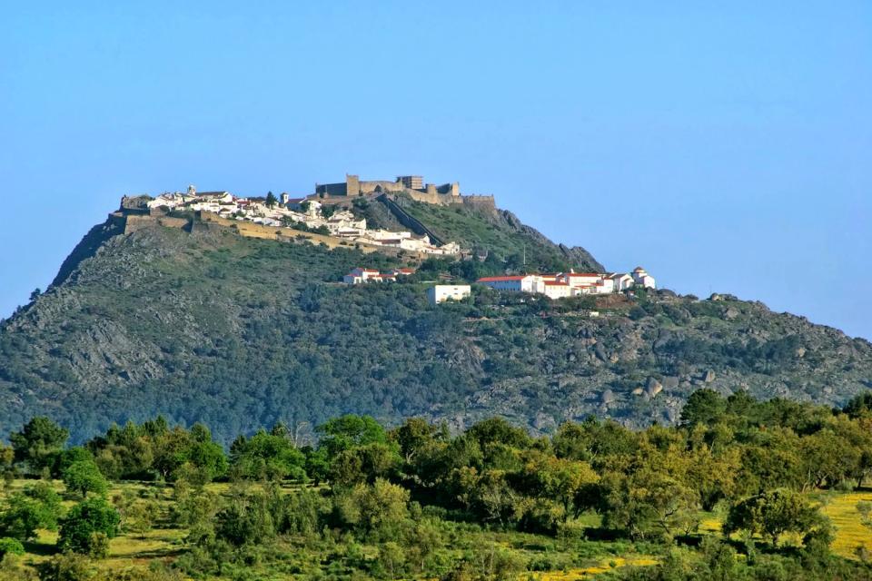La cité médiévale de Marvao , Portugal