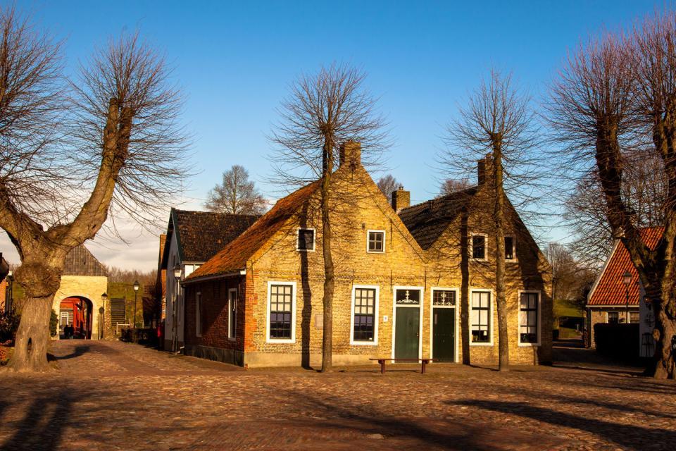 Le village fortifié de Bourtange , Pays-Bas