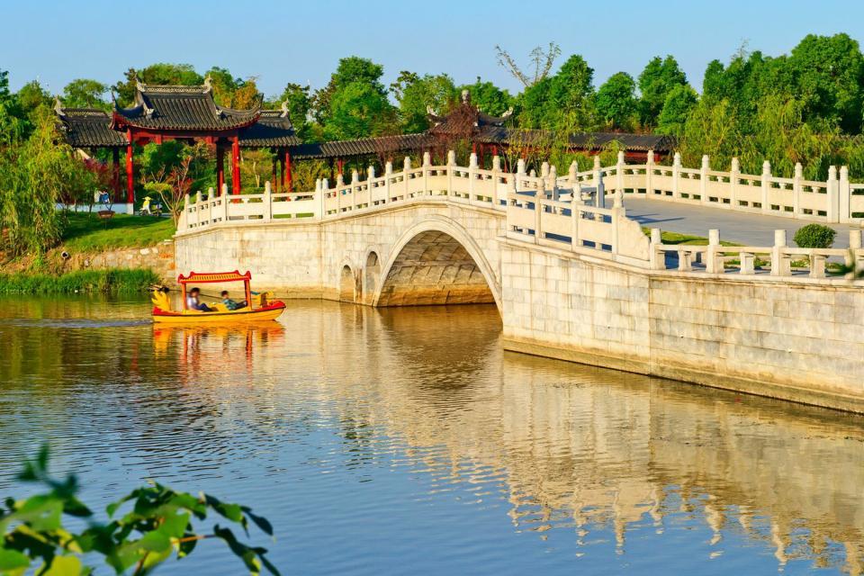 Les jardins de Suzhou , Chine