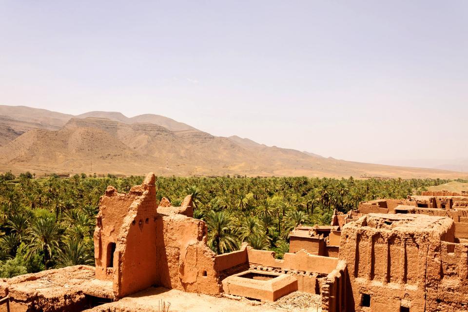 La vallée du Drâa , Maroc