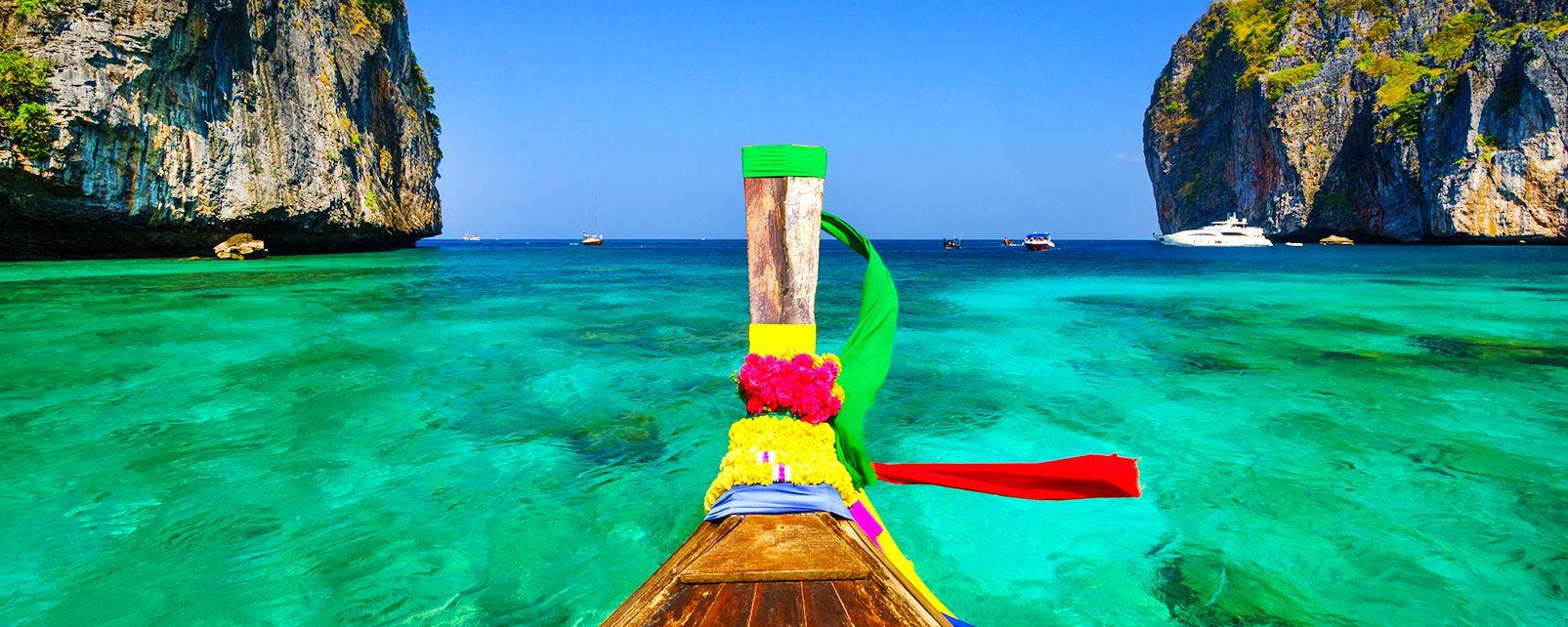 Les îles de Koh Phi Phi, Les côtes, Koh Phi Phi, Thaïlande