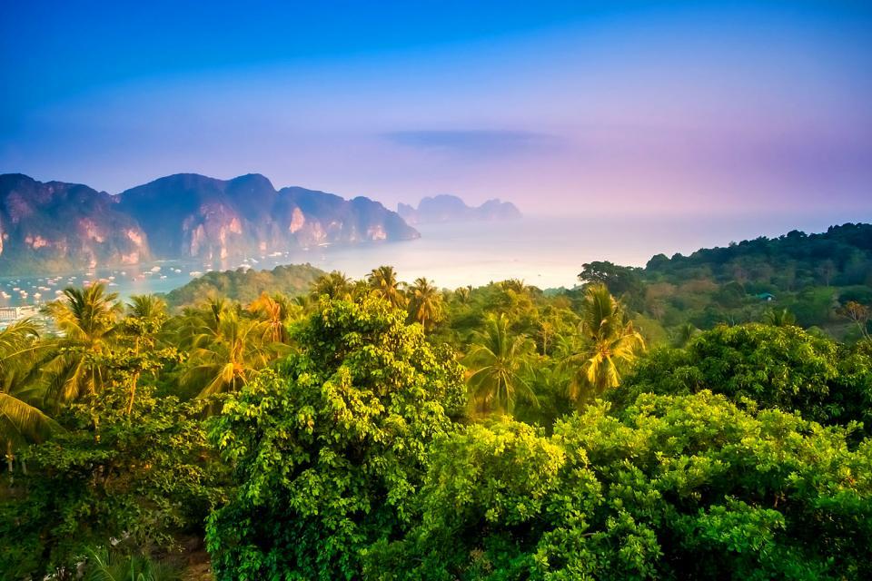 Les îles de Koh Phi Phi , Thaïlande