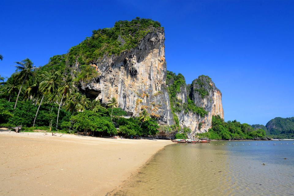 Les côtes de Krabi , Thaïlande