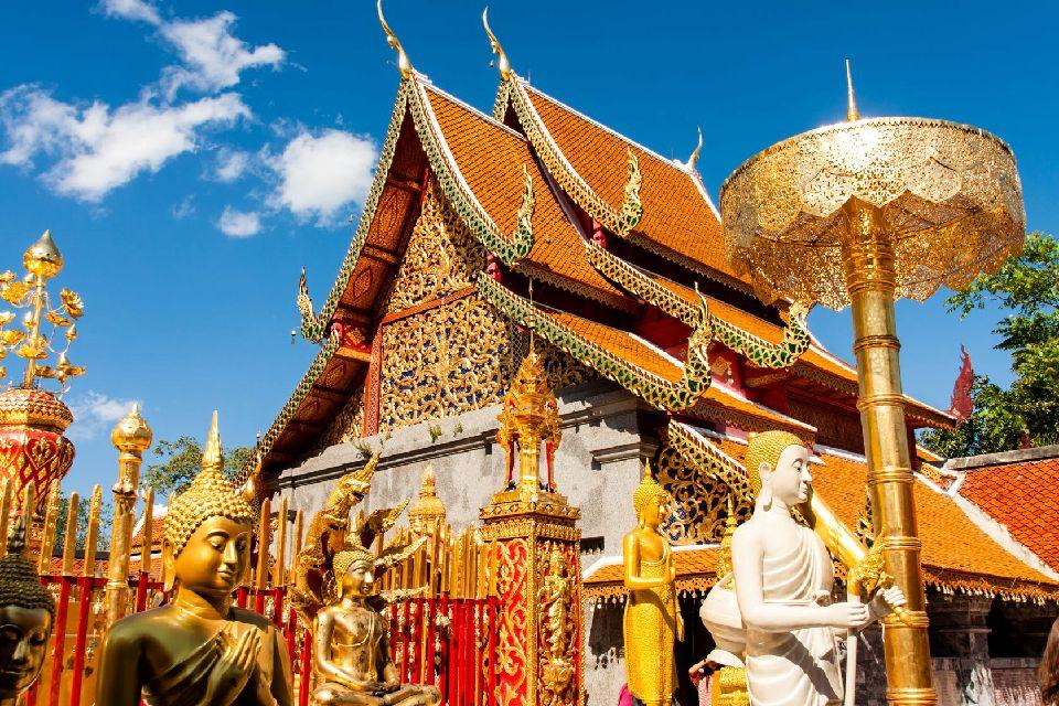 Les temples de Chiang Mai , Thaïlande