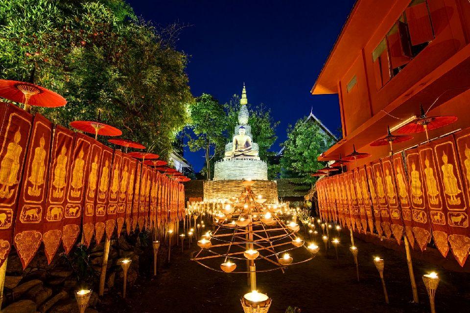 Les temples de Chiang Mai , Les représentations de Bouddha , Thaïlande