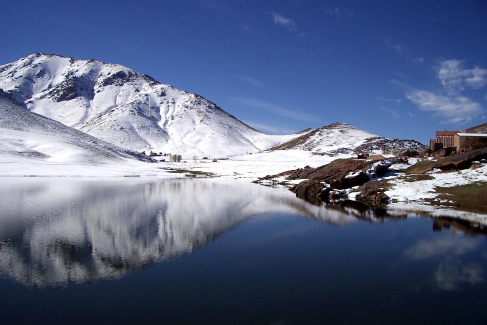 Les sommets de l'Oukaïmeden , Maroc