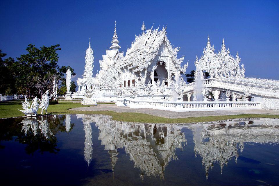 Le Triangle d'or et Chiang Rai , Wat Rong Khun , Thaïlande