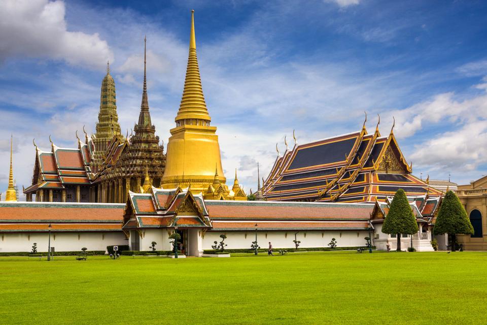 Le Wat Phra Kaeo à Bangkok , Thaïlande