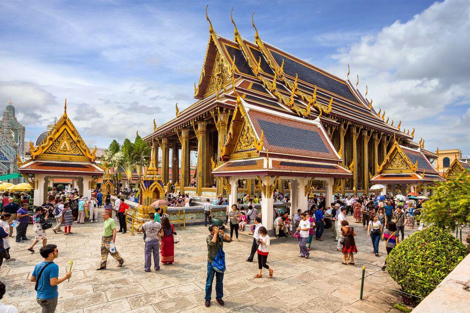 Le Wat Phra Kaeo à Bangkok, Les monuments, Bangkok, Thaïlande