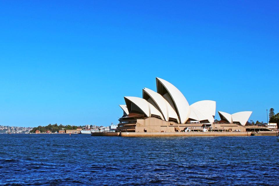 L'Opéra de Sydney , Concours d'architecte , Australie