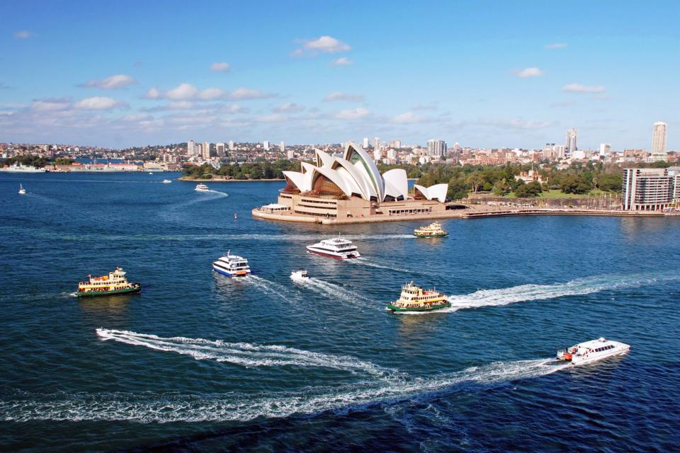 L'Opéra de Sydney , Australie