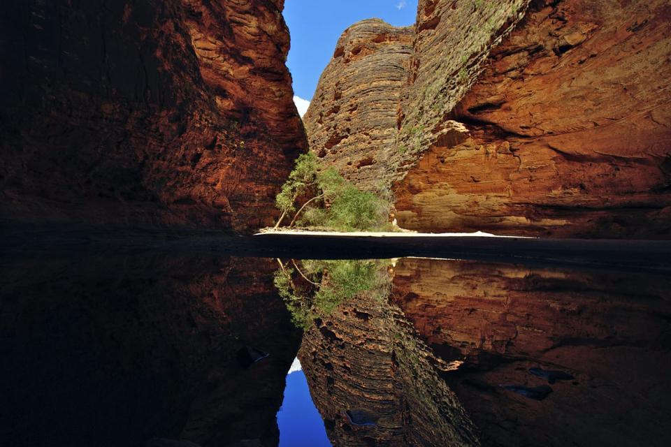 Le parc national de Purnululu , Australie