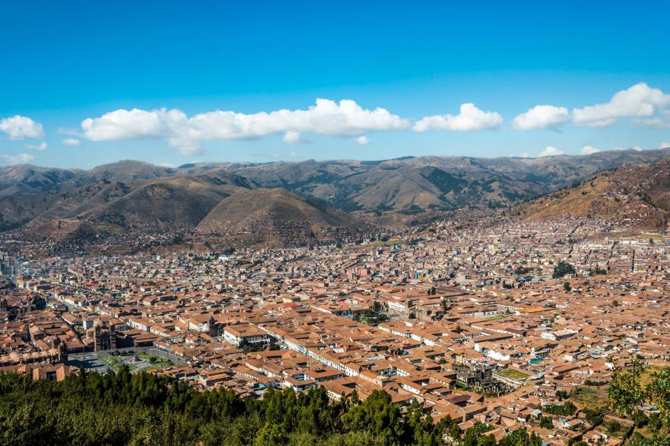 La vieille ville de Cusco , Pérou