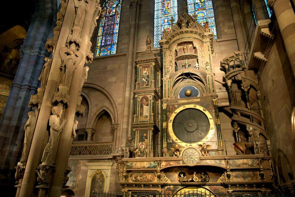 La cathédrale Notre-Dame de Strasbourg , France
