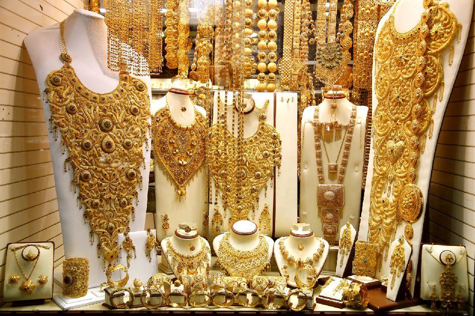 Le souk de l'or à Dubaï , Emirats Arabes Unis