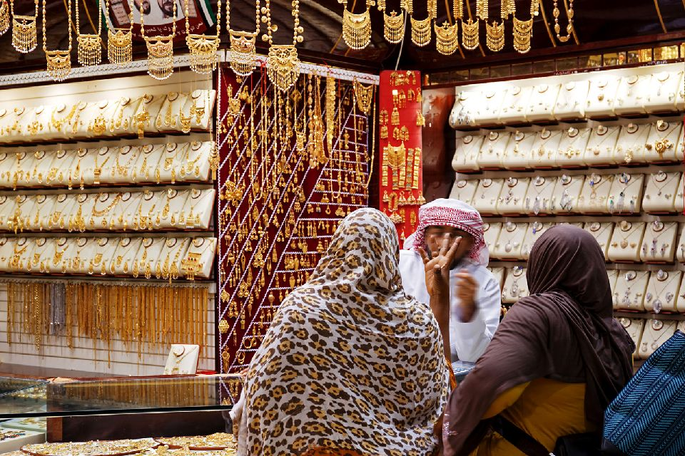 Le souk de l'or à Dubaï , Savoir marchander , Emirats Arabes Unis