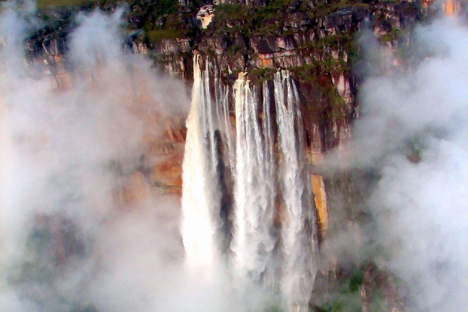 Les chutes de l'Ange (Salto Angel) , Venezuela