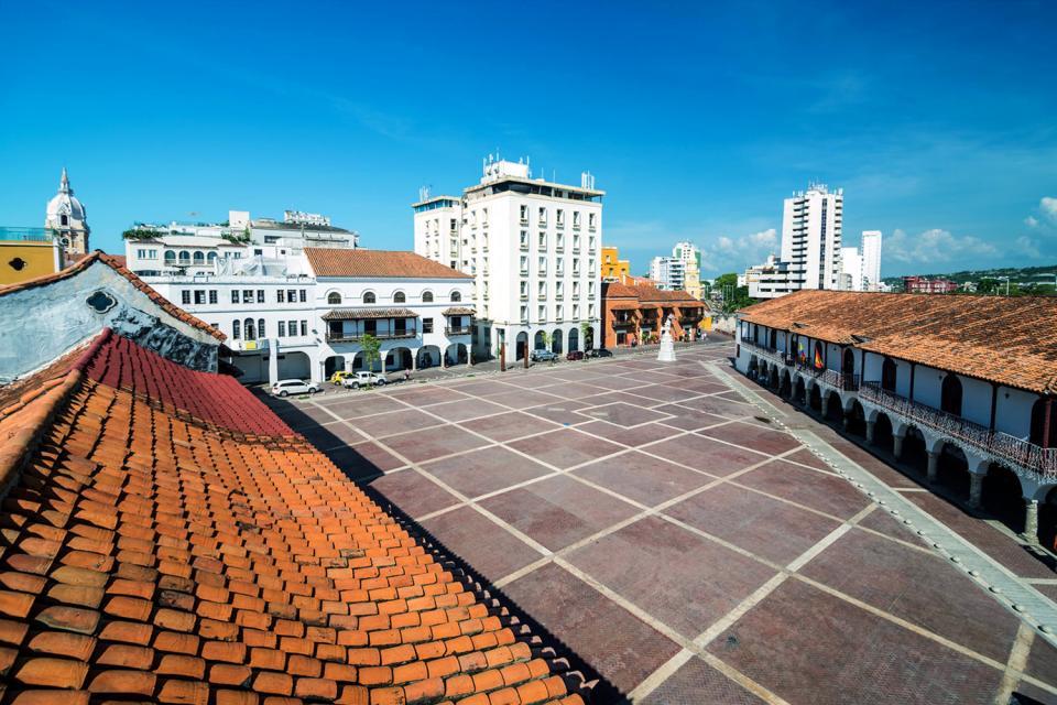 La cité de Carthagéne , Colombie