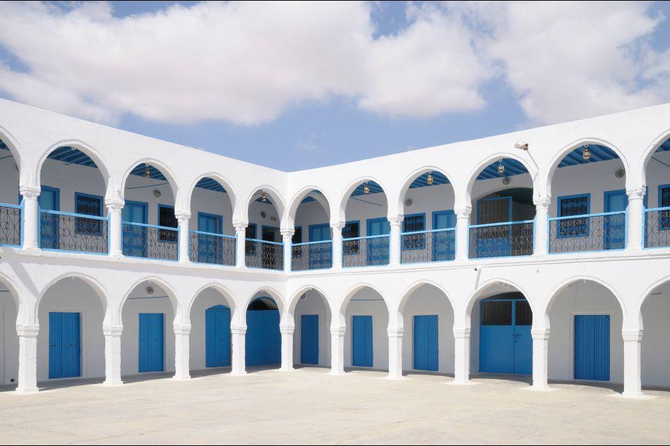 La synagogue de Djerba , La Ghriba , Tunisie