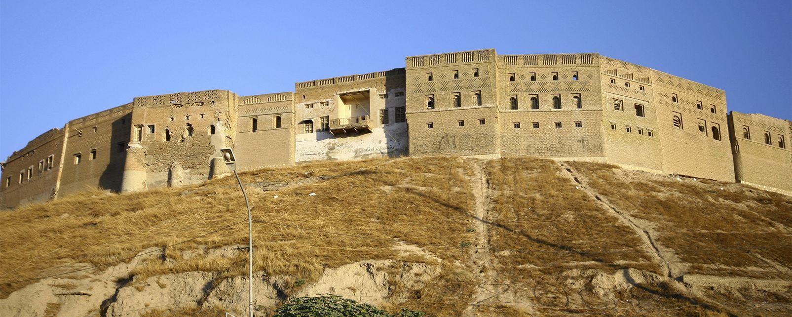 La citadelle d'Erbil , Irak