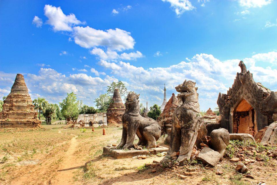 Les arts et la culture, Pyu, birmanie, myanmar, antiquité, ruines, vestige, halin, sculpture