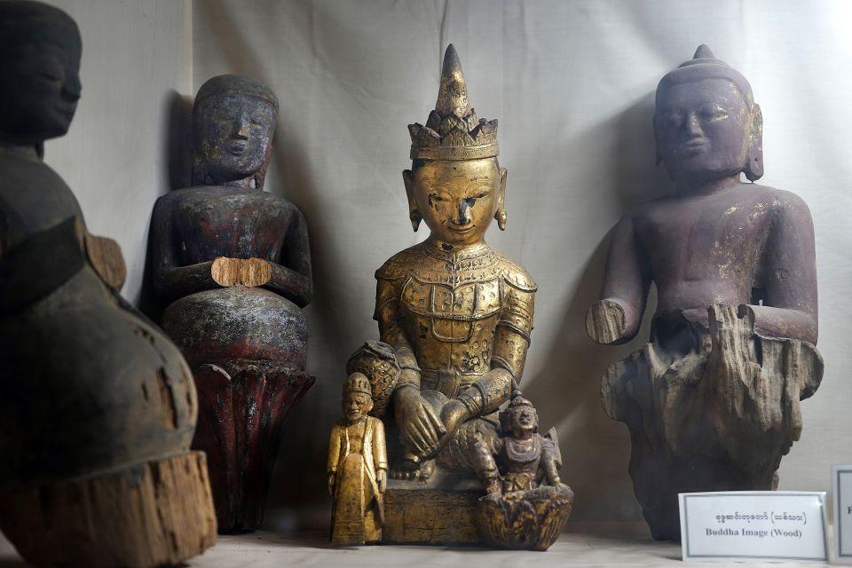 Les arts et la culture, Pyu, birmanie, myanmar, antiquité, musée, culture, buddha, driksetra