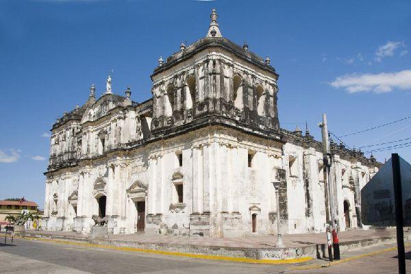 La cathédrale de Léon , Nicaragua
