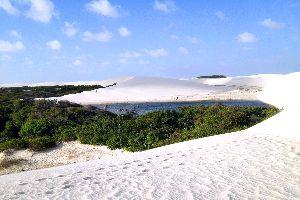 Parc national des Lençóis Maranhenses , Le Parc national des Lençóis Maranhenses , Brésil