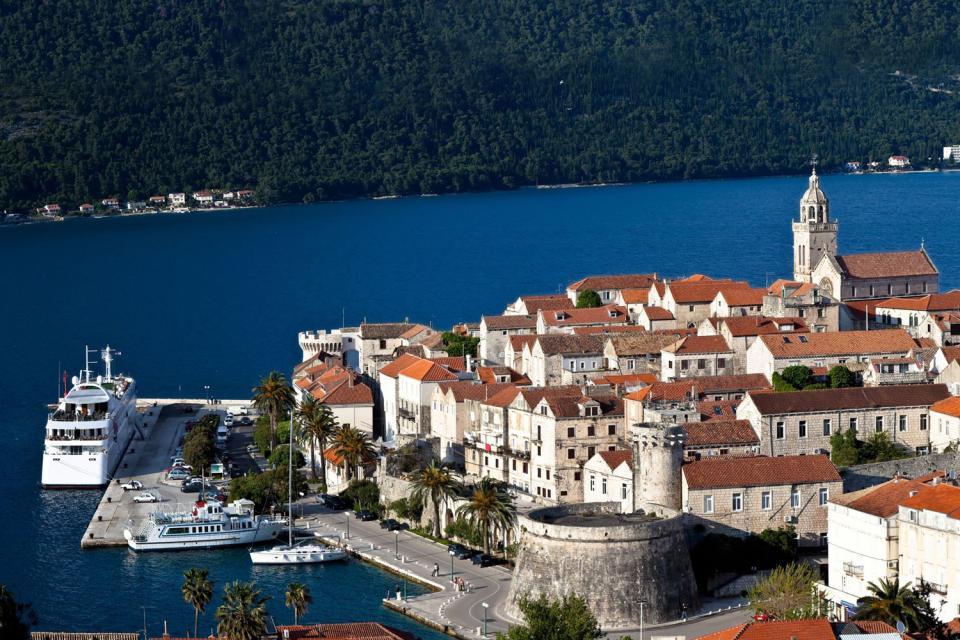 L'île de Korcula , Croatie