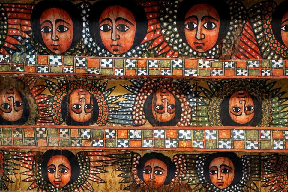 La cité royale de Gondar , Ethiopie